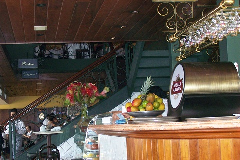 Café Girondino, São Paulo. Imagem: (Arquivo Jeguiando)