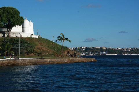 Forte de Monte Serrat, construção data de 1742. Salvador, Bahia. Imagem: Erik Pzado