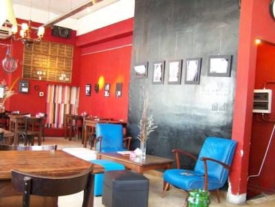 Resto-bar Rara em San Telmo, Buenos Aires. Foto: Jeguiando