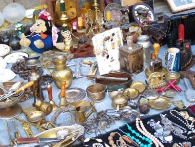 Feira de San Telmo - Antiguidades. Foto: Jeguiando