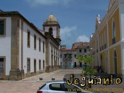 Rua do Recife Antigo. Foto: Jeguiando