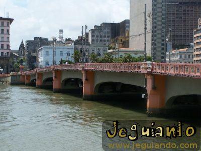 Ponte Maurício de Nassau. Foto: Jeguiando