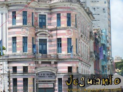 Antiga Bolsa de Valores. Foto: Jeguiando
