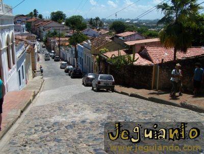 Ladeira da Misericórdia - Centro Histórico de Olinda. Foto: Jeguiando