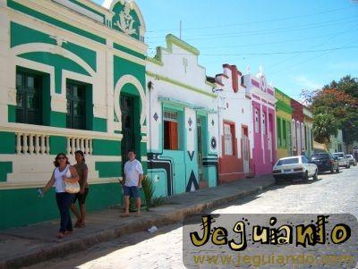 Casarões de Olinda, Centro Histórico. Foto: Jeguiando