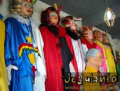 Bonecos gigantes, Centro Histórico de Olinda. Foto: Jeguiando