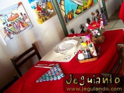 Restaurante Marim, Olinda, Pernambuco. Foto: Jeguiando