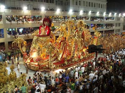 Carnaval no Rio de Janeiro. Foto: Marcus Correa.