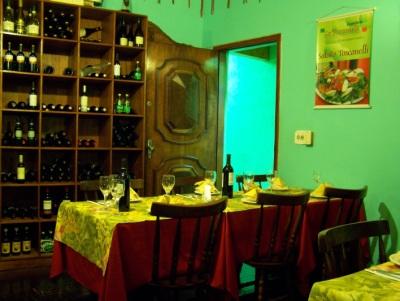 Um dos ambientes do La Toscanelli