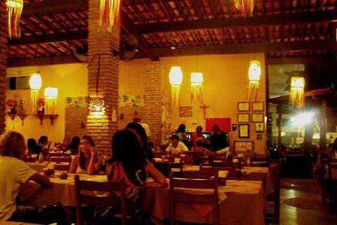 Restaurante Parraxaxá, comida típica nordestina em Recife, Pernambuco. Imagem: Janaína Calaça
