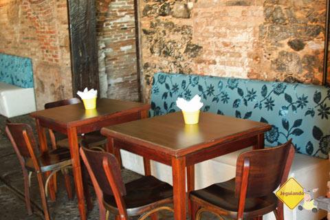 Café/bistrô do Solar do Unhão. Salvador, Bahia. Imagem: Janaína Calaça