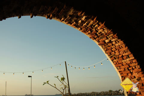 Fim de tarde no Solar do Unhão. Salvador, Bahia. Imagem: Janaína Calaça