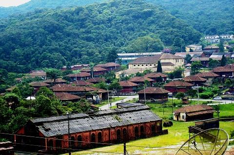 Vila de Paranapiacaba, Santo André, SP. Imagem: Janaína Calaça.