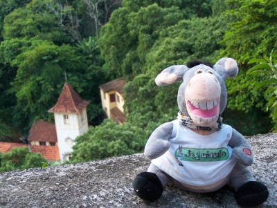 Jegueton no alto de Santa Tereza. Rio de Janeiro. Royal Holiday. Imagem: Jeguiando.