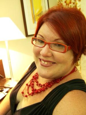 Eu, no quarto do hotel, tomando coragem de ir para a noite carioca. #Medo. Imagem: Jeguiando.