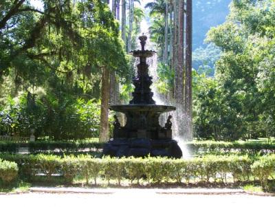 Fonte. Jardim Botânico. Imagem: Jeguiando.