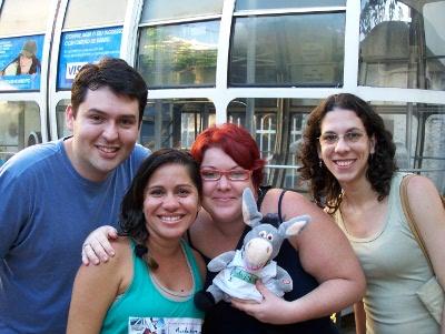 Júnior, Andréia, eu e Mila. Royal Holiday. Imagem: Jeguiando.