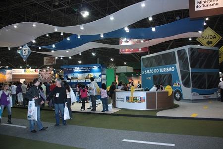 5º Salão de Turismo: Roteiros do Brasil. Imagem: Erik Pzado.