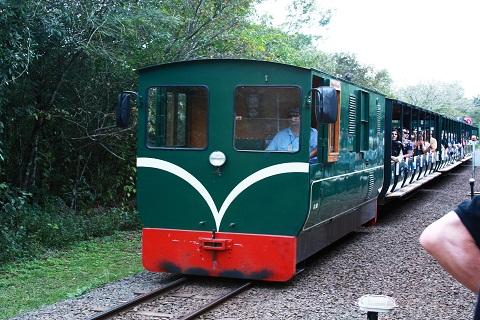 Trem para as Cataratas Argentinas. Porto Iguaçu. Imagem: Erik Pzado.