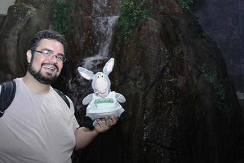 Erik Pzado e Jegueton no Acqua Mundo. Imagem: Janaína Calaça.