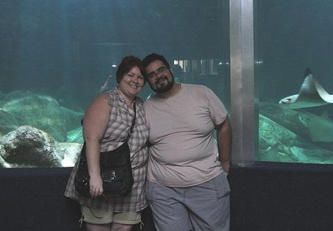 Janaína Calaça e Erik Pzado, Jeguiando no Acqua Mundo.