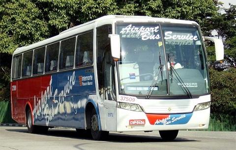 Airport Bus Service. Ônibus executivo. Imagem: Fernando Nishimura.