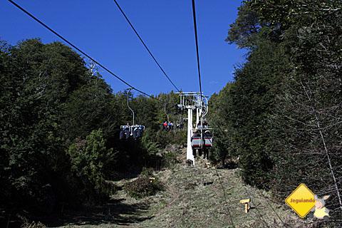 Teleférico. Cerro Campanário. Imagem: Erik Pzado.