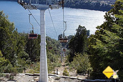 Teleférico que leva os viajantes para o alto do Cerro Campanário. Imagem: Erik Pzado.