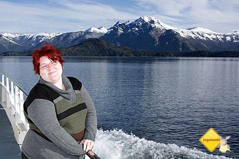 Eu, fingindo que nem estou com frio! Brrrr... Imagem: Erik Pzado.