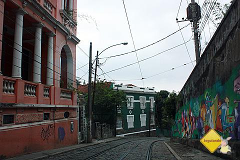 Casarões de Santa Tereza. Rio de Janeiro. Imagem: Erik Pzado.