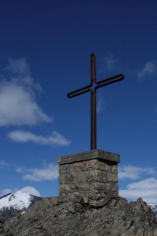 Cruz simboliza a primeira missa celebrada por Monseñor de Andrea em 1930. Imagem: Erik Pzado.