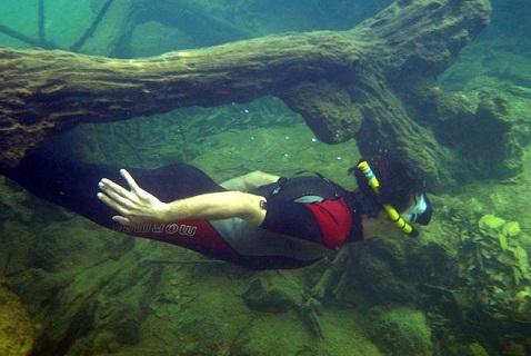 Mergulho em Bonito, Mato Grosso do Sul. Fonte: Ygarapé Tour.