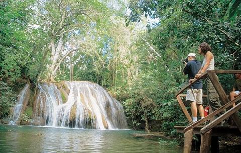 Estância Mimosa. Bonito, Mato Grosso do Sul. Fonte: Ygarapé Tour.