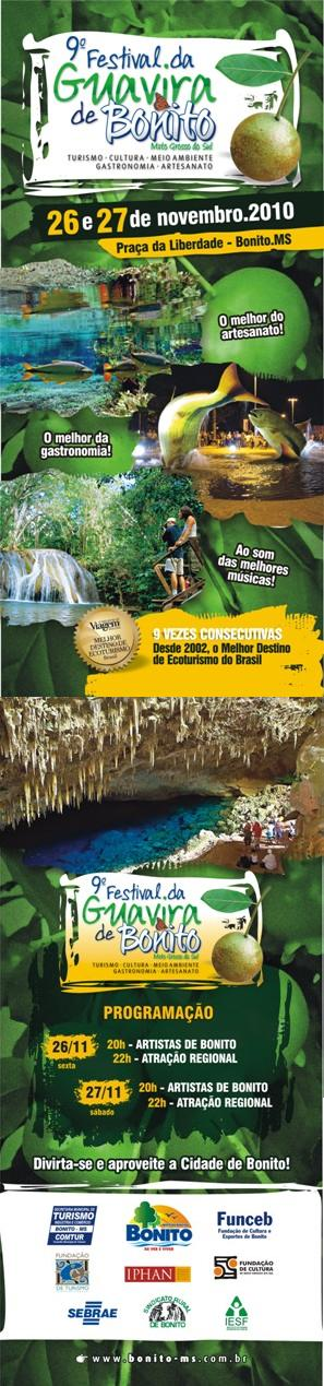 9º Festrival da Guavira de Bonito, Mato Grosso do Sul