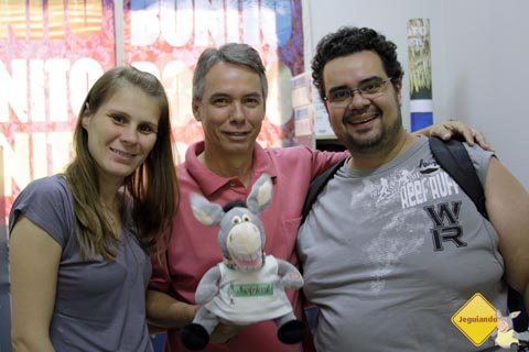 Visita à Secretaria de Turismo de Bonito, com a presença do Diretor Clayton Castillo. Imagem: Janaína Calaça.