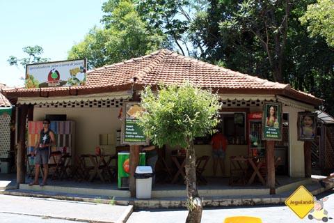 Restaurante do Bosque. Balneário Municipal de Bonito, Mato Grosso do Sul. Imagem: Erik Pzado.