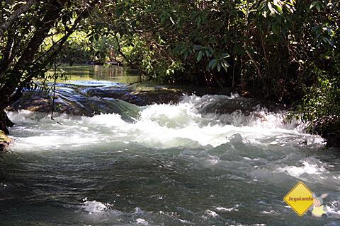 Corredeira do Rio Formoso. Estância do Araçá, Bonito, Mato Grosso do Sul. Imagem: Erik Pzado.