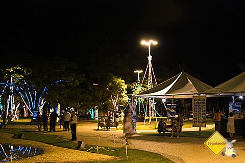 Praça da Liberdade, Bonito, Mato Grosso do Sul. Imagem: Erik Pzado.