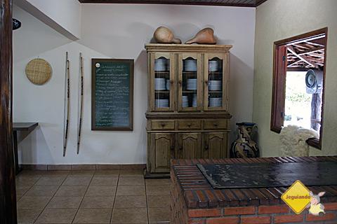 Interior da casa. Estância do Rio da Prata, Bonito, Mato Grosso do Sul. Imagem: Erik Pzado.