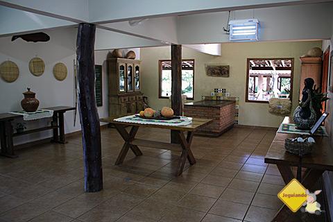 Por dentro da casa. Estância do Rio da Prata. Imagem: Erik Pzado.