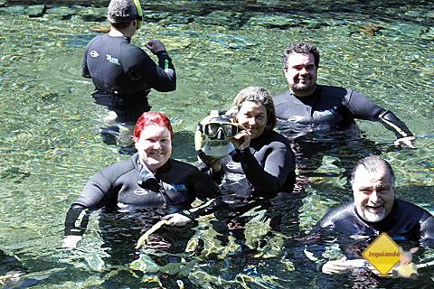 Janaína Calaça, Jegueton, Chris e Erik Pzado. Imagem: Tio Boca.