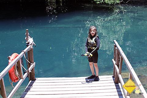 Menininha que fez a travessia conosco no Rio da Prata. Imagem: Tio Boca.