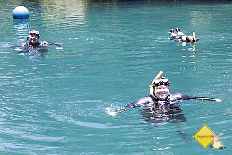 Fim da flutuação no Rio da Prata. Passeio muito bem aproveitado e saudades depois! Imagem: Tio Boca.