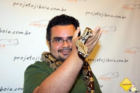Erik em seu momento Shakira. :P Imagem: Janaína Calaça.