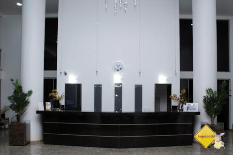 Recepção do Hotel Marruá, Bonito, Mato Grosso do Sul. Imagem: Erik Pzado.
