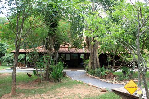 Casa-sede da Estância Mimosa, Bonito, Mato Grosso do Sul. Imagem: Erik Pzado.