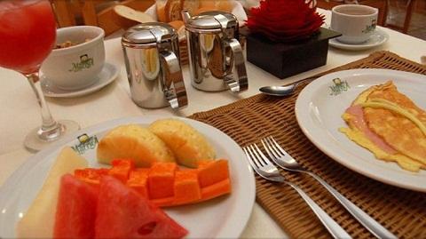 Café da Manhã. Imagem: Marruá Hotel (Divulgação)