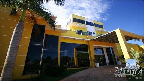 Marruá Hotel, Bonito, Mato Grosso do Sul. Imagem: Marruá Hotel (Divulgação)