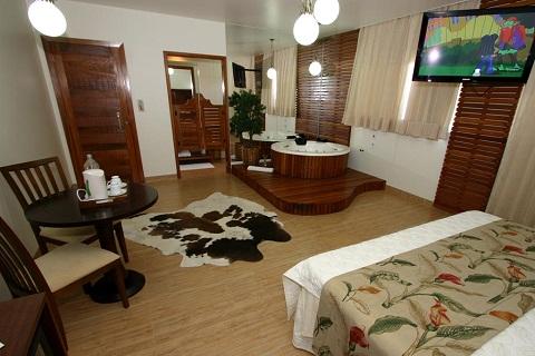 Suíte Pantaneira. Imagem: Marruá Hotel (Divulgação)