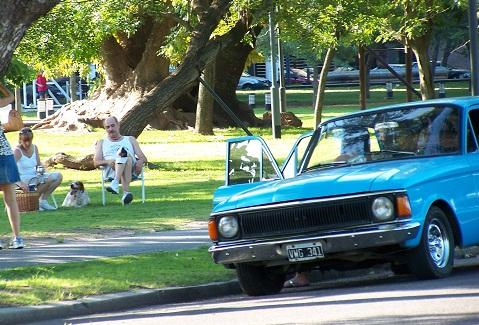 Parque Urquiza, local de descanso e de reunir família e amigos. Imagem: Fábio Brito (Arquivo Jeguiando)